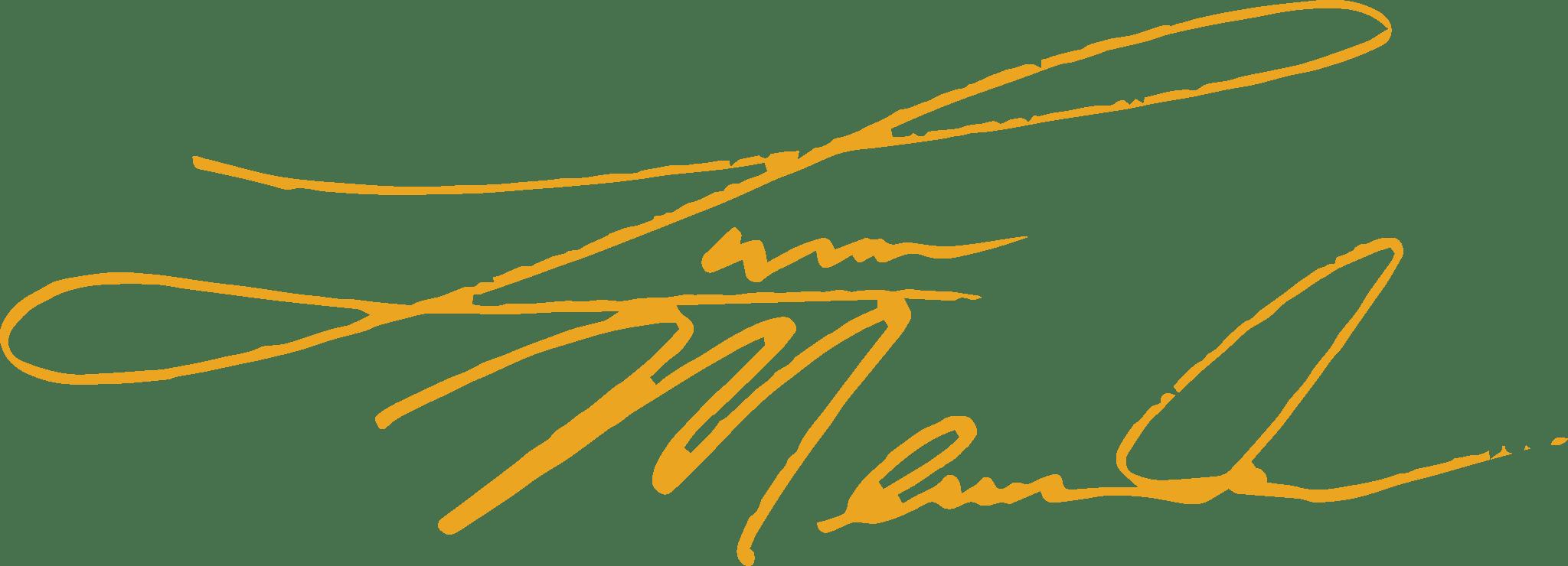 Lucas Meachem's Signature