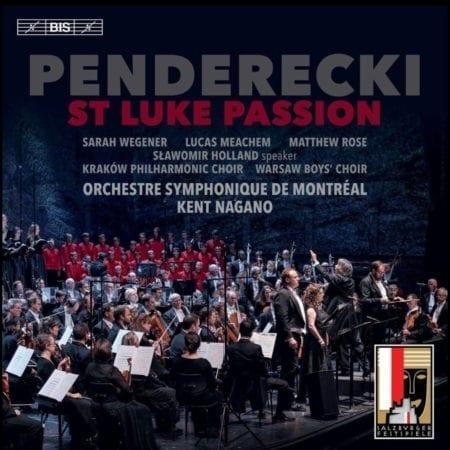 Penderecki's St Luke Passion, featuring Lucas Meachem, Baritone