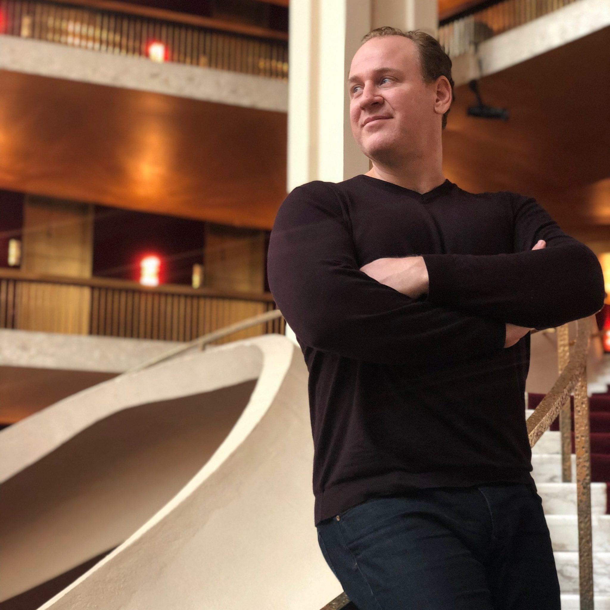 Lucas Meachem at the Metropolitan Opera