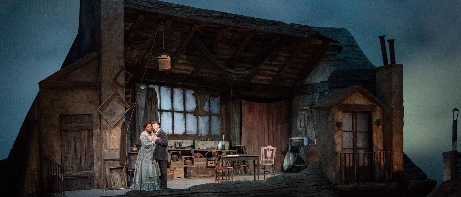 La Bohème at the Metropolitan Opera, feat. Lucas Meachem as Marcello